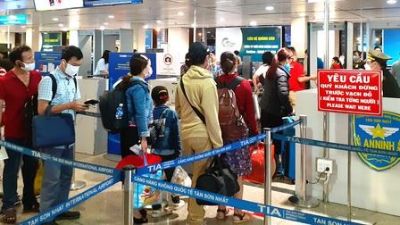 Dừng tất cả các đường bay chở khách đến các tỉnh đang thực hiện giãn cách