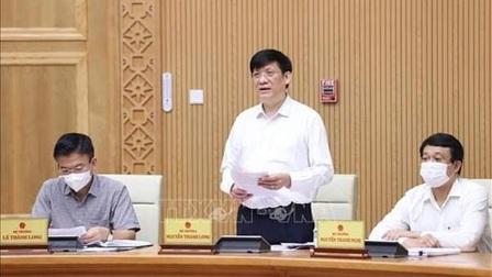 Bộ trưởng Bộ Y tế: 'Không để bệnh nhân thiếu máy thở'