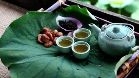 Trà ướp sen tươi - Thức uống tao nhã của người Thái Nguyên