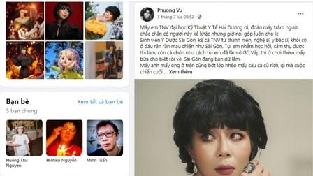 MC Trác Thuý Miêu bị phạt 7,5 triệu đồng vì bài viết gây chia rẽ trong thời điểm chống dịch