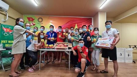 Một số Đoàn thể thao Olympic Tokyo tự lo các bữa ăn