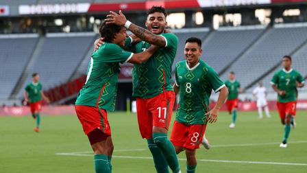 U23 Mexico 4-1 U23 Pháp: 'Gà trống' bị cắt tiết