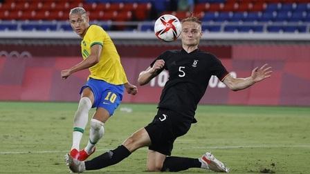 U23 Brazil 4-2 U23 Đức: Richarlison tỏa sáng, Brazil nhấn chìm Đức