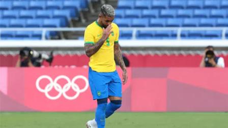U23 Brazil 0-0 U23 Bờ Biển Ngà: Luiz nhận thẻ đỏ, U23 Brazil chia điểm với U23 Bờ Biển Ngà