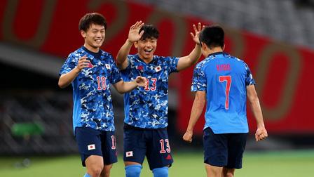 Nhật Bản vẫn là lá cờ đầu của bóng đá châu Á tại Olympic Tokyo