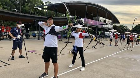 Olympic Tokyo: Cung thủ Ánh Nguyệt phải đổi lịch thi đấu vì bão