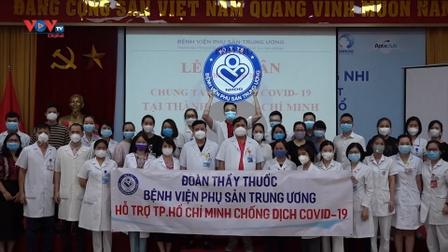 Chi viện cho TP. Hồ Chí Minh chống dịch Covid-19