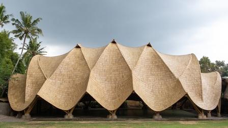 7 công trình kiến trúc bằng tre nổi tiếng