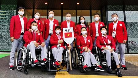 Đoàn Thể thao Việt Nam rạng rỡ tại Lễ khai mạc Paralympic Tokyo 2020
