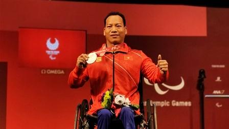 Lê Văn Công xuất sắc giành HCB Paralympic Tokyo 2020