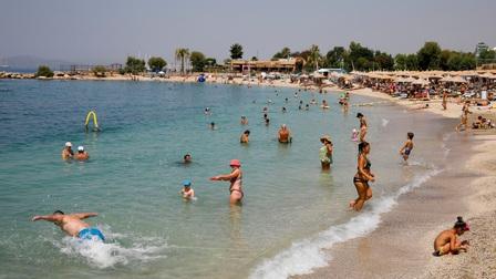 Nắng nóng kỷ lục lên tới 46 độ C đang 'thiêu đốt' Hy Lạp