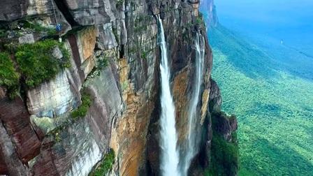 Thác nước cao nhất thế giới tại Venezuela