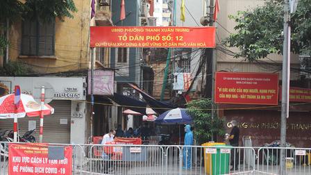 Trưa 24/9, Hà Nội ghi nhận 4 ca mắc mới Covid-19, không có ca ngoài cộng đồng