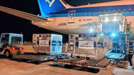 Nhật Bản trao tặng Việt Nam 400.000 liều vaccine AstraZeneca