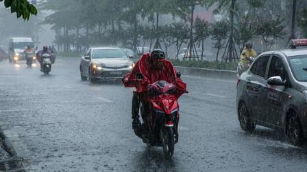 Thời tiết hôm nay: Bắc Bộ có mưa vừa, mưa to, trời dịu mát