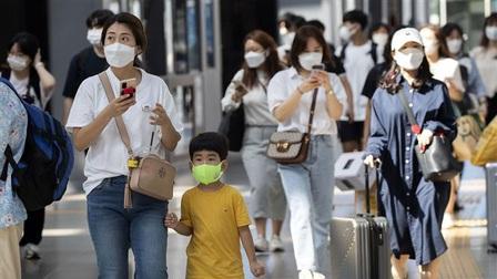 Số bệnh nhân mắc Covid-19 tại Hàn Quốc tăng mạnh sau tết Trung thu