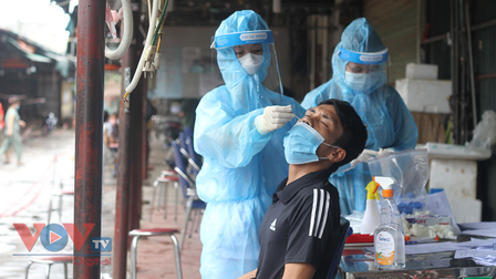Ngày 25/9, Việt Nam ghi nhận 9.706 ca mắc COVID-19 mới