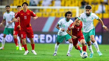 Quang Hải ghi bàn nhưng VAR 'cứu' Saudi Arabia
