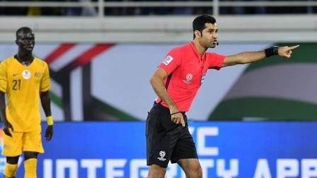 Trọng tài người Qatar điều khiển trận Việt Nam - Australia