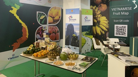 Trái cây Việt Nam hút khách tại Hội chợ quốc tế lớn ở Italia