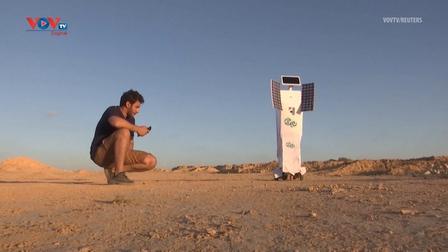 Kỹ sư Ai Cập chế tạo robot làm nước uống trên Sao Hỏa
