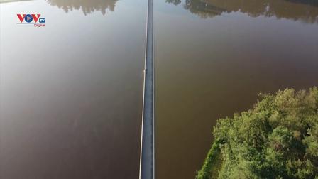 Độc đáo đường đạp xe dưới nước của Bỉ