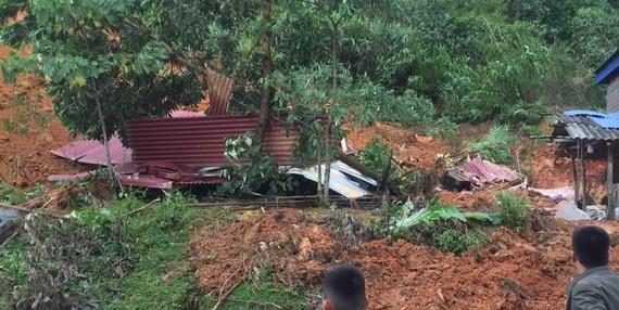 Hoà Bình: Sạt lở đất khiến 4 người thương vong