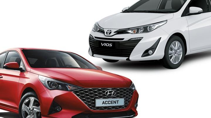 """10 xe bán chạy nhất tháng 12/2020: Hyundai Accent """"lật đổ"""" Vios bất thành"""