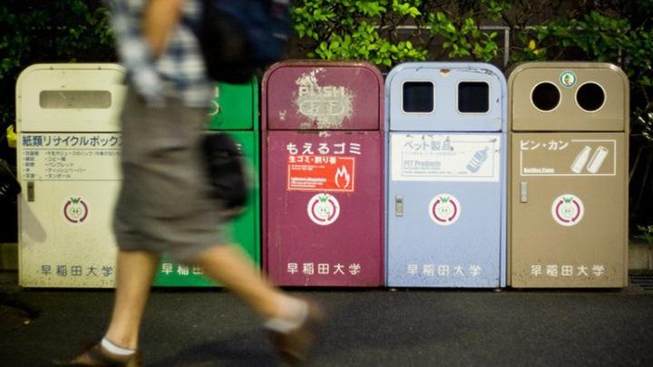Vì sao Nhật Bản 'vắng bóng' thùng rác?