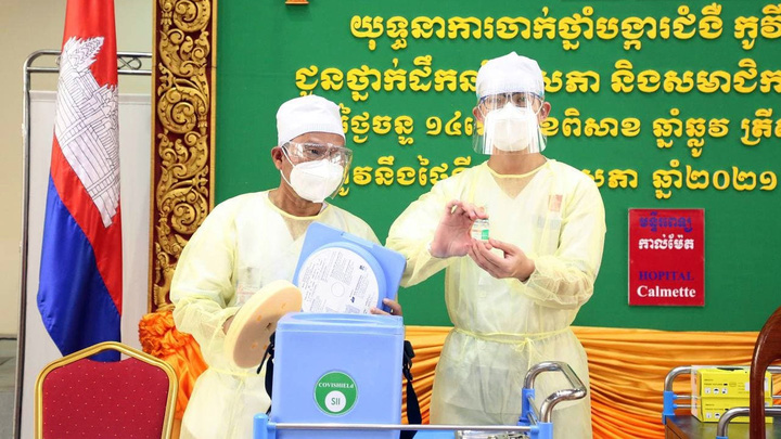 Campuchia cho phép lĩnh vực tư nhân tham gia cung ứng vaccine Covid-19
