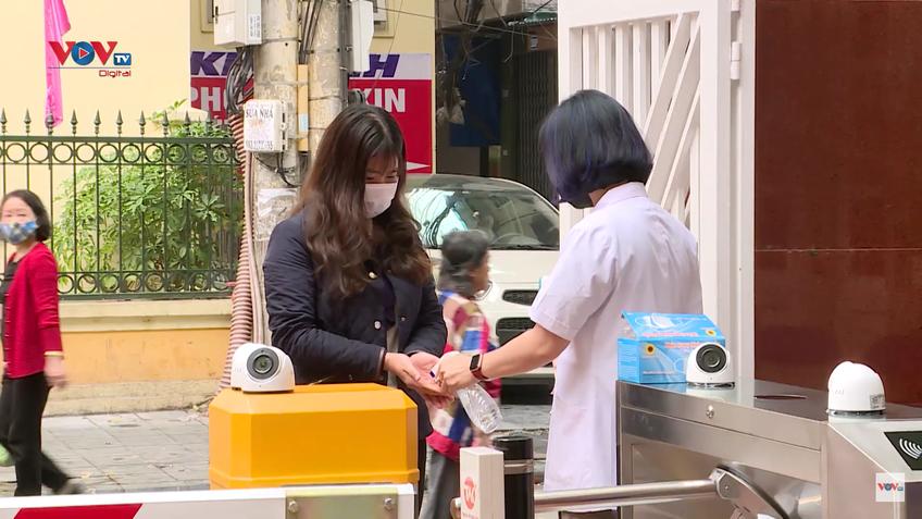 Hà Nội: Trường học chuẩn bị sẵn sàng đón học sinh đi học lại