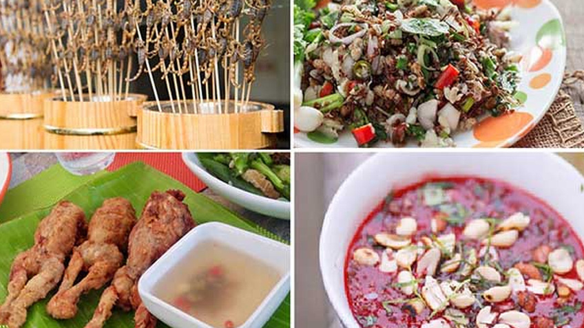 10 món ăn kỳ lạ nhất định phải thử khi du lịch đến Thái Lan