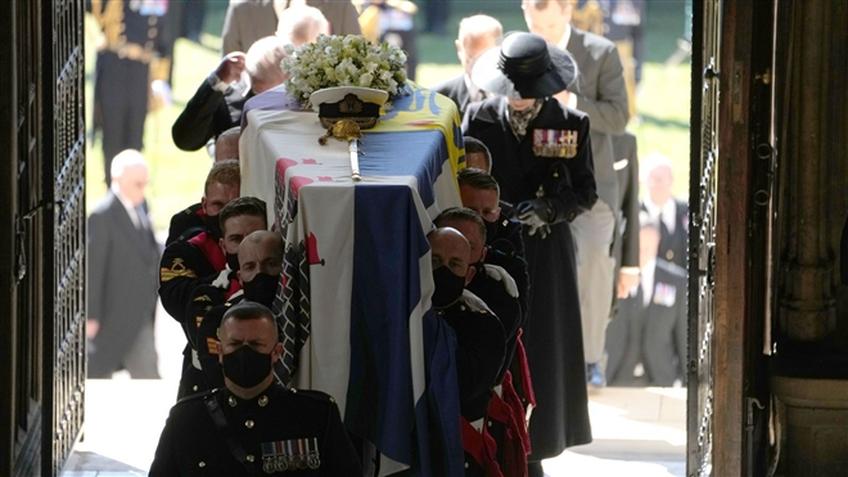 Ảnh: Những khoảnh khắc đặc biệt tại tang lễ Hoàng thân Philip