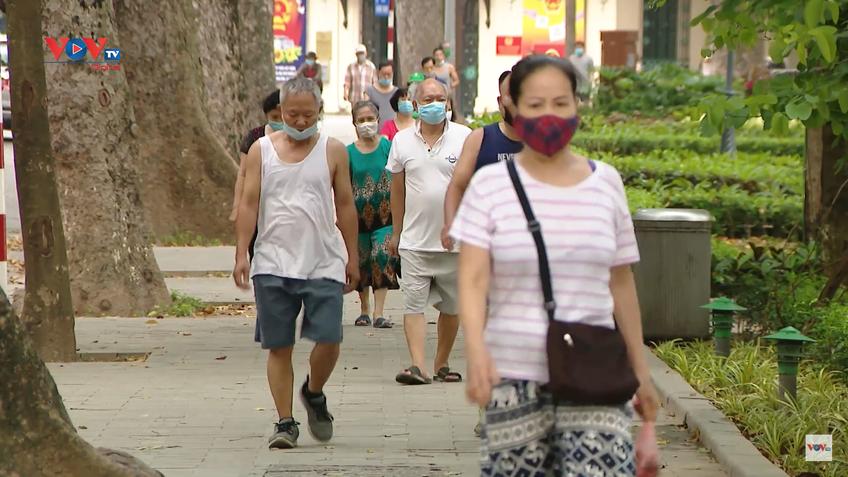 Từ ngày 28/9, Hà Nội cho phép tập thể dục, thể thao ngoài trời, trung tâm thương mại được mở cửa